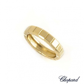 Chopard 18k Yellow Gold Ice Cube Ring 82/7407